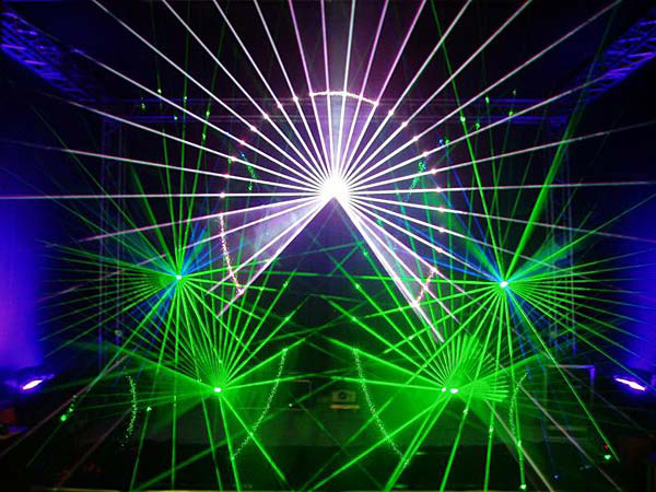 Лазерное шоу своими руками фото
