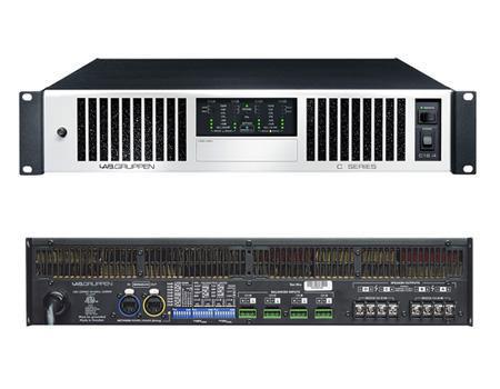 C Series - это усилители мощности класса TD, предназначенные для звуковых инсталляционных систем высочайшего качества...